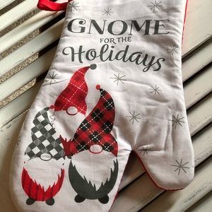 Gnome for the holidays 4 piece set kitchen decor